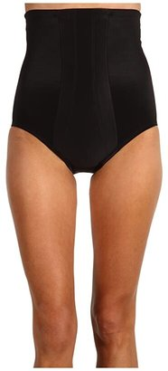 Miraclesuit Shapewear Extra Firm Shape with an Edge Hi-Waist Brief (Black) Women's Underwear