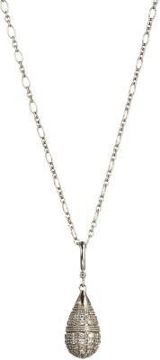 Stone Diamond Tears in Heaven Pendant Necklace