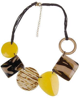 Forever 21 Safari Stone Necklace