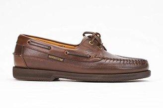 Mephisto Men's Hurrikan Moccasin Brown Leather 41 (US Men's 7)