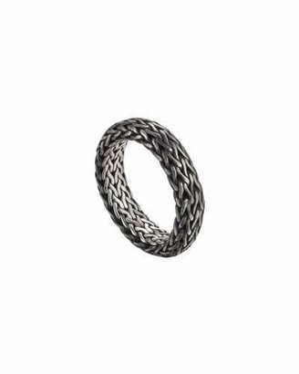 John Hardy Men's Classic Chain Band Ring $325 thestylecure.com
