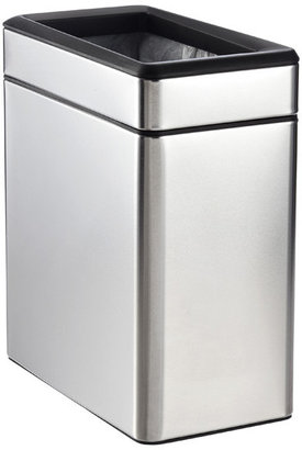 Simplehuman Stainless Steel 2.6 gal. Profile Open Can