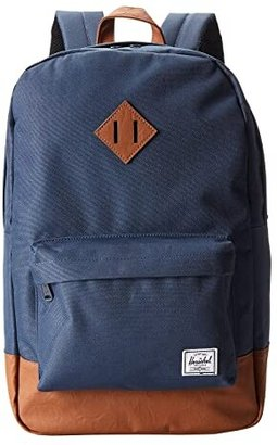Herschel Heritage (Navy/Tan) Backpack Bags