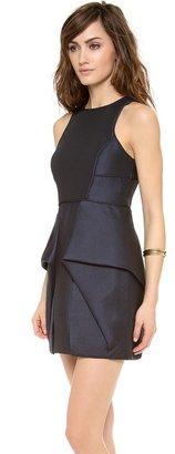 Tibi Sleeveless Jacquard Dress