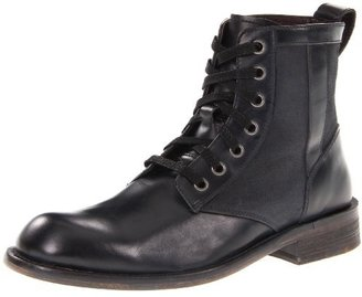 John Varvatos Men's Strummer Military Lace Up Boot