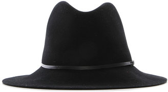 Janessa Leone Vera Hat with Leather and Metal Detail