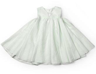 Lotus Springs Eco Baby Mint Silk Dress