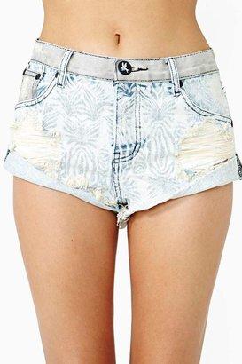 Nasty Gal One Teaspoon Bandits Cutoff Shorts - Wild Blue
