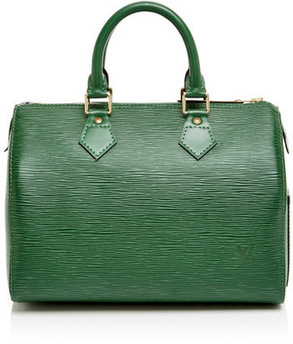 Louis Vuitton Vintage 25Cm Green Epi Speedy Green