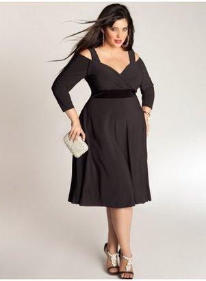 IGIGI Siren Plus Size Dress in Black