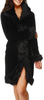 Betsey Johnson Rock 'N' Roll Coat w/ Skull