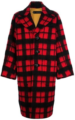 DSquared DSQUARED2 checked coat