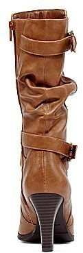 JCPenney St. John's Bay® Amaretto Slouch Buckle Boots