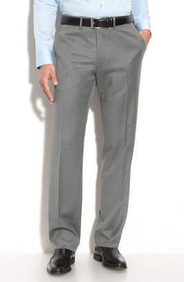 Boss Black 'Cagan' Flat Front Wool Trousers