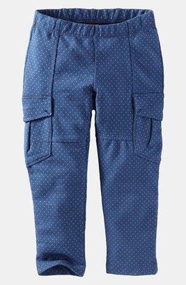 Tea Collection 'Pin Dot' Cargo Pants (Little Girls & Big Girls) Blue Nova 10
