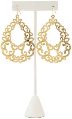 Forever 21 Baroque Teardrop Earrings