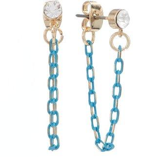 Lauren Conrad chain drop earrings