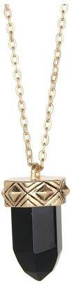 Gabriella Rocha Crystal Necklace (Black) - Jewelry