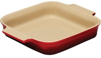 Le Creuset 9x9-in. Stoneware Square Baking Dish, Cherry Red