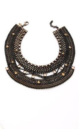 Iosselliani Studded Crystal Necklace