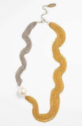 Adia Kibur Two Tone Necklace