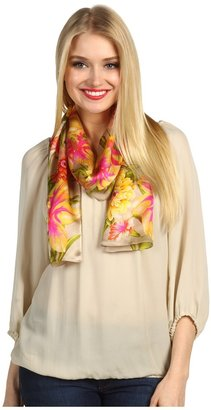 Echo Spring Floral Oblong (Khaki) - Accessories