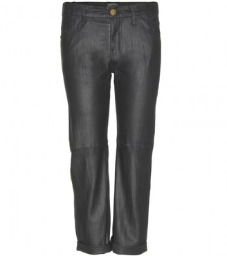 Current/Elliott The Boyfriend leather trousers