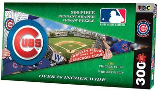 TDC Games MLB Pennant Shaped Puzzle-Chicago Cubs (300 pc)