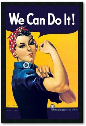 Howard Miller ''Rosie the Riveter'' Framed Wall Art
