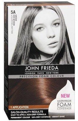 John Frieda Permanent Precision Foam Colour Medium Ash Brown 5A