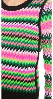 Milly Reversible Kuji Jacquard Sweater