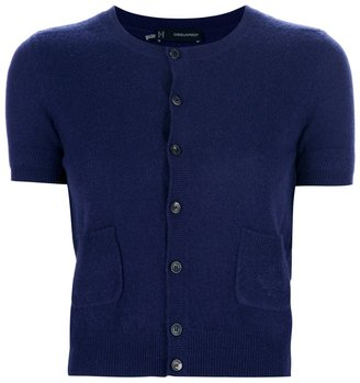 DSquared Dsquared2 short sleeve cardigan