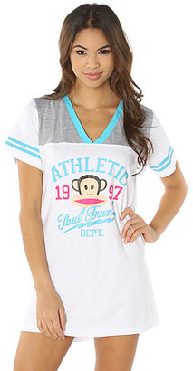 Paul Frank The PF University Athletic Department Nightshirt in White