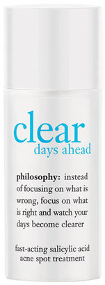 Philosophy 'Clear Days Ahead' Fast-Acting Acne Spot Treatment $19 thestylecure.com