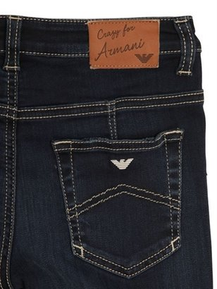Armani Junior Super Stretch Denim Leggings