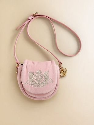 Juicy Couture Girl's Velour Crossbody Bag