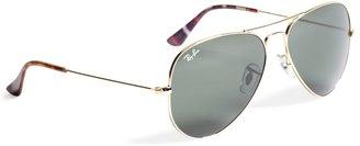 Brooks Brothers Ray-Ban Aviator Sunglasses with Madras
