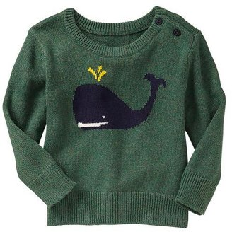 Gap Whale intarsia sweater