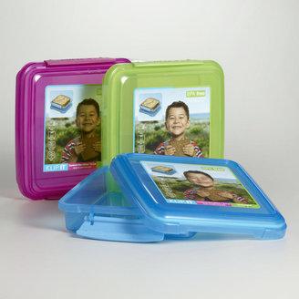 Cost Plus World Market Sistema Klip-It Sandwich Boxes, Set of 3