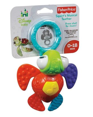Fisher-Price Disney baby finding nemo squirt's musical teether