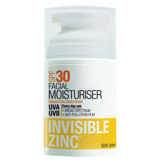 Invisible Zinc Facial Moisturiser SPF30+