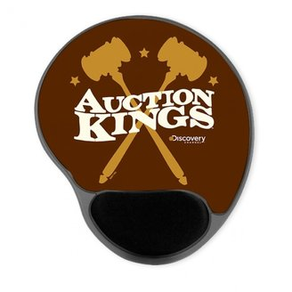 Discovery Auction Kings Gavel Mousepad