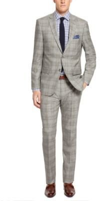 HUGO BOSS 'T-Howard/Court' - Regular Fit, Tailored Italian Virgin Wool Suit