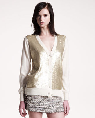 Gryphon Sequined Cardigan