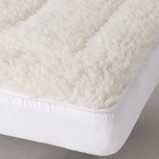 The White Company Cot Bed Mattress Topper, No Colour, Cot Bed