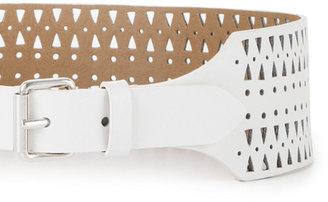 BCBGMAXAZRIA Cutout Waist Belt