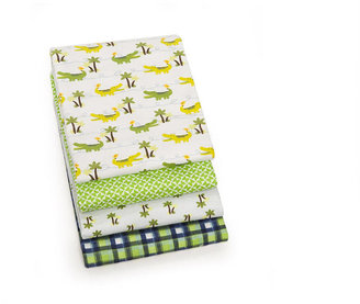 Carter's Alligator 4-Pack Receiving Blankets