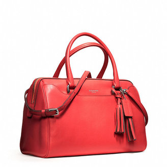 Coach Legacy Haley Satchel With Strap In Leather