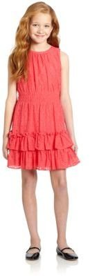 K.C. Parker Girl's Floral Lace Dress