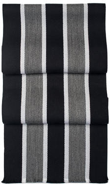 Aspinal of London College Stripes Merino Wool Scarf